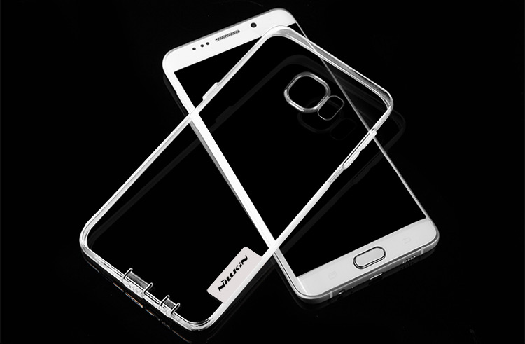 Nillkin Ultra Thin TPU Protective Back Cover Case with Transparent Design for Samsung Galaxy S6 Edge Plus