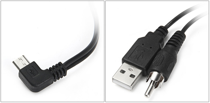 Original SJCAM TV Out 5-Pin Micro USB Cable for SJ4000 / SJ5000 / SJM10 Series Action Camera Camcorder