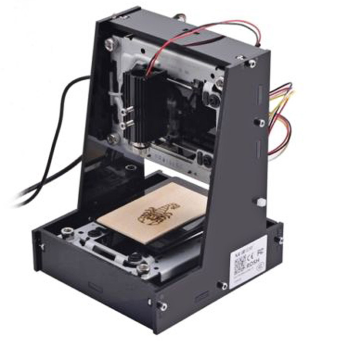 NEJE Laser Engraver Printer Machine 300mW for Engraving Picture / Word / Logo