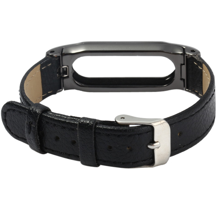 Leather Watch Band Anti Lost Design
