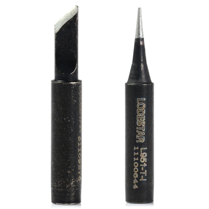LODESTAR L951 - T - I Lead-free Electric Welding Head Solder Tip for Circuit Board