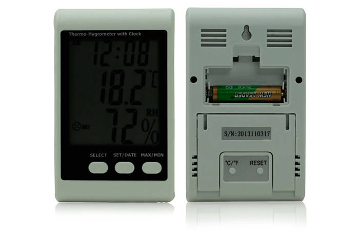 BSIDE EHT01 Humidity / Temperature Data Logger Thermo-hygrometer for Celsius / RH