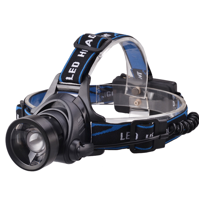 RichFire SF - 657U CREE XM - L2 U2 1000Lm Zooming LED Headlamp USB Rechargeable 3 Modes ( 18650 Batteries + Chargers )