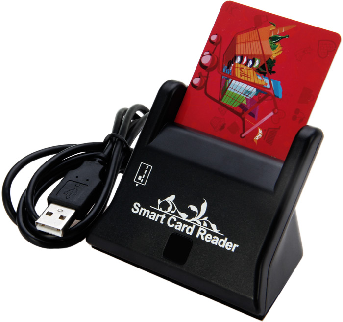 USB Smart Card Reader Support Network ATM Banking Transfers