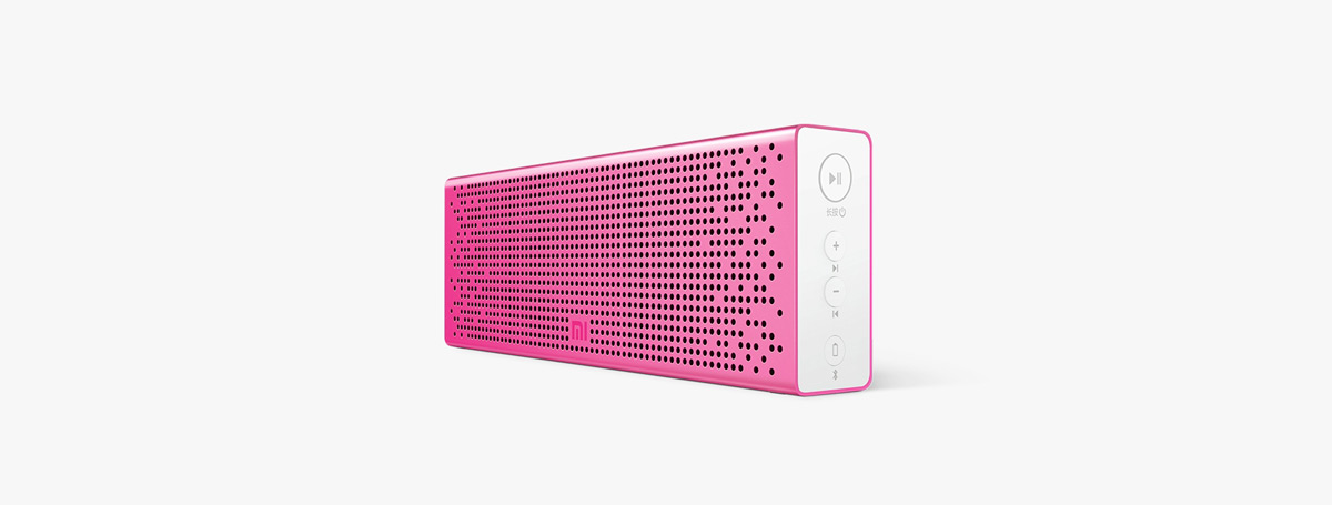 Original XiaoMi Bluetooth 4.0 Speaker Built-in Battery Support Hands-free Calls for iPhone 6S / 6S Plus / iPad Pro / Samsung Galaxy Tab S2