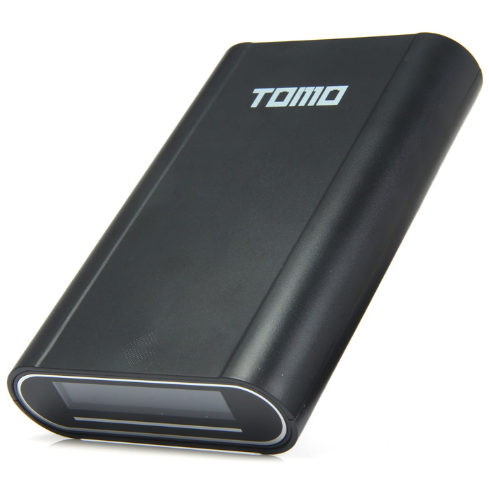 TOMO V8 - 4 18650 USB Battery Charger with Digital LCD Power Bank Dual Use for iPhone 6S / 6 Plus / Samsung Note / HTC / Blackberry