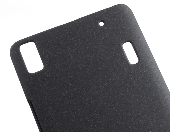 Plastic Material Back Cover Case with Frosted Surface for LENOVO K3 NOTE