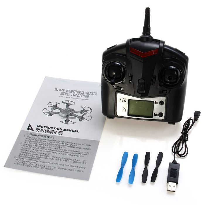 JJRC H21 Mini 2.4G 6 Axis Gyro 4CH RC Hexacopter Headless Mode One Key to Return