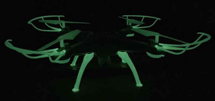 Syma X5SC X5WS Luminous Protection Ring Set RC Quadcopter Spare Parts