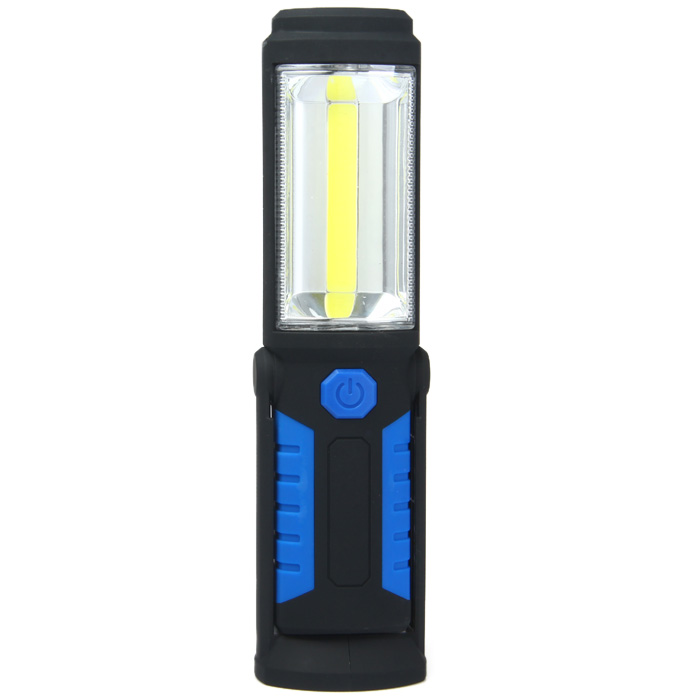 USB Rechargeable COB LED Flashlight 350Lm Working Lamp Emergency Light Discharging for iPhone Samsung Smart Phones