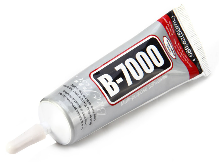 B-7000 Multi-purpose Adhesives Glue with Needle for Jewelry Accessories Fill 50ml