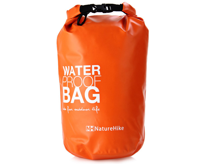 NatureHike Multi-use 5L Waterproof Bag PVC Made for Outdoor Camping