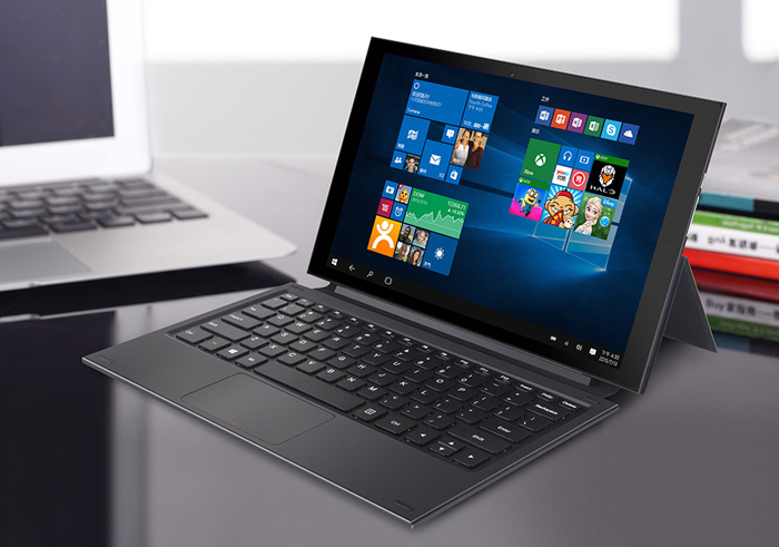 Original Teclast X2 Pro Keyboard with Foldable PU Leather Tablet PC Protective Case Magnetic Suction Stand Function