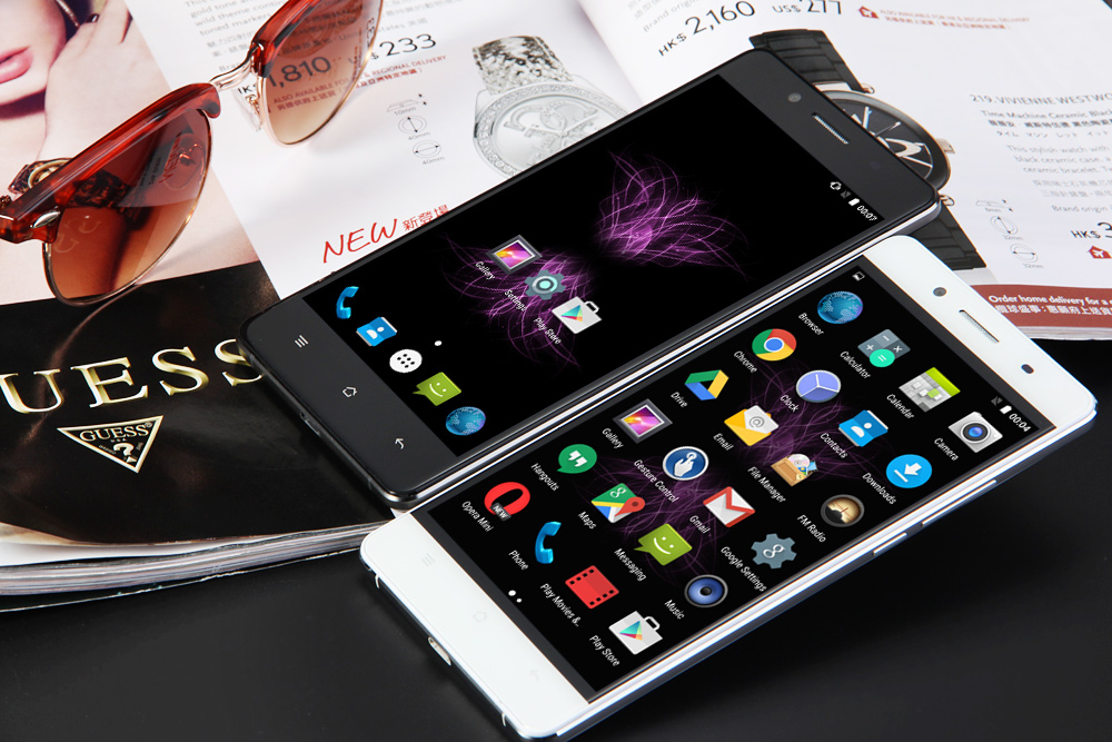 Cubot X16 5.0 inch 4G Smartphone Android 5.1 MTK6735 Quad Core 64bit 1.3GHz 2GB RAM 16GB ROM Dual Cameras Bluetooth 4.0