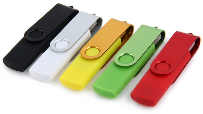 2 in 1 64GB OTG USB 2.0 Flash Drive for Laptop / Smart Phone / PC / Mac / Notebook etc.