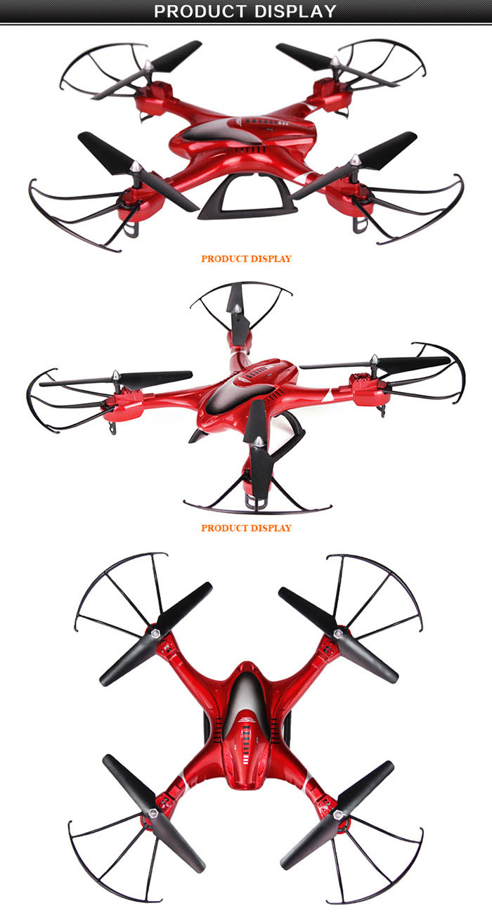 SJ X300 - 2CW 2.4GHz 4CH RC Quadcopter Drone WIFI Real-time Transmission with 0.3MP Camera