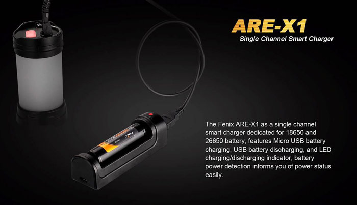 Fenix ARE - X1 Smart Single Channel USB Charger