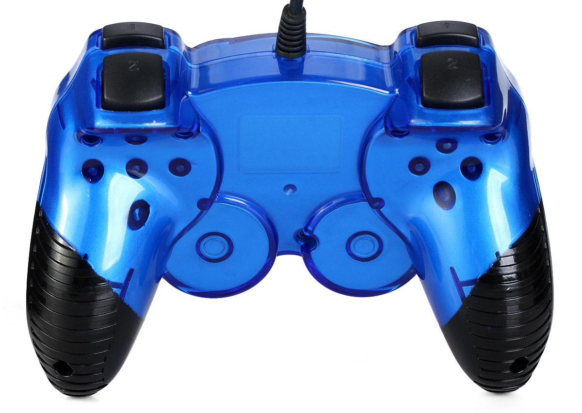 USB-906 USB 1.0 / 2.0 Wired Game Controller Double Shock with 12 Function Keys