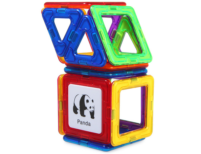 DIGE 44pcs Magic Magnetic Block Educational Toy