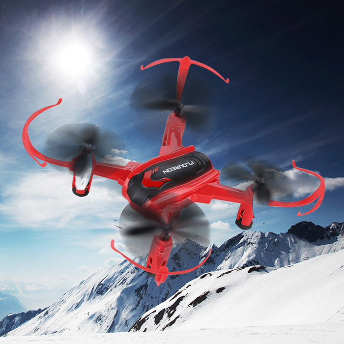 Floureon H101 2.4GHz 4CH 6 Axis Gyro RC Quadcopter 3D Inverted Flight