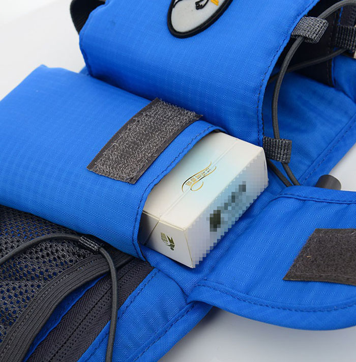 Tanluhu Waist Bag with Mesh / Mobile Phone / Cigarette Case Pouches