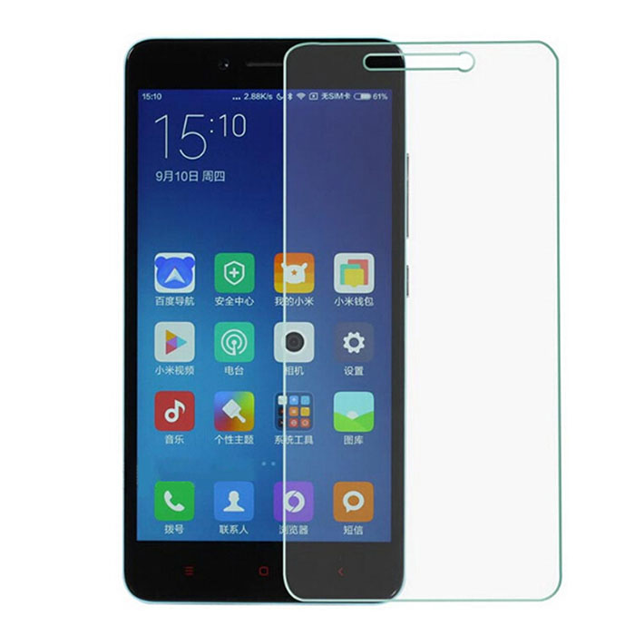 ASLING Practical Tempered Glass Screen Film Protector for Redmi Note 2 with 0.26mm 9H