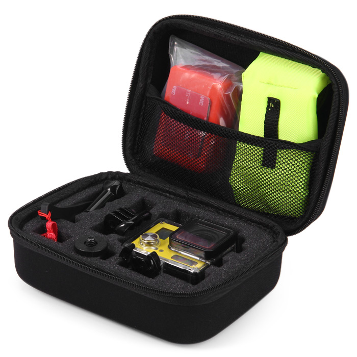 Kimi XMS001 Small Size Portable EVA Shockproof Protective Accessories Storage Carry Case for Action Camera