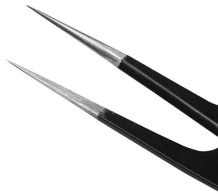 Best BST-ESD-9 Fine Tip 115mm Toughened Anti-static Tweezer Selected Professional Tool for Precision Component