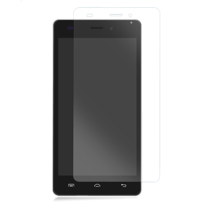 Original DOOGEE X5 / X5 PRO Spare Part Tempered Glass Protective Screen Film + Protective Cover Case