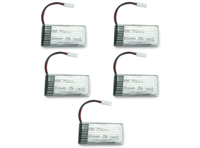 Upgraded Battery Set with USB Cable / 2 to 5 Cable for Mould King 33041 33041A