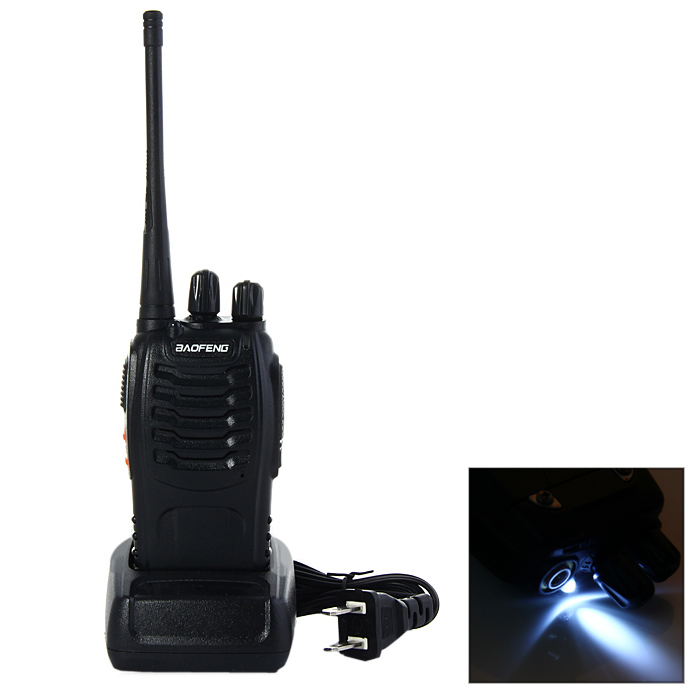 BAOFENG BF-888S UHF Walkie Talkie 16 Channels with Flash Light