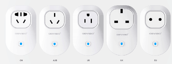 Orvibo wiwo-S20 Smart Wi-Fi EU Standard Socket Intelligent Home Control Automation for Andoid and iOS System