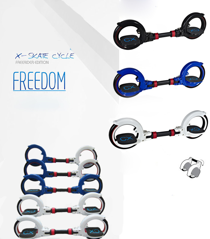 X8 Freerider Skatecycle Fashion Safe for Free X-Games First Generation