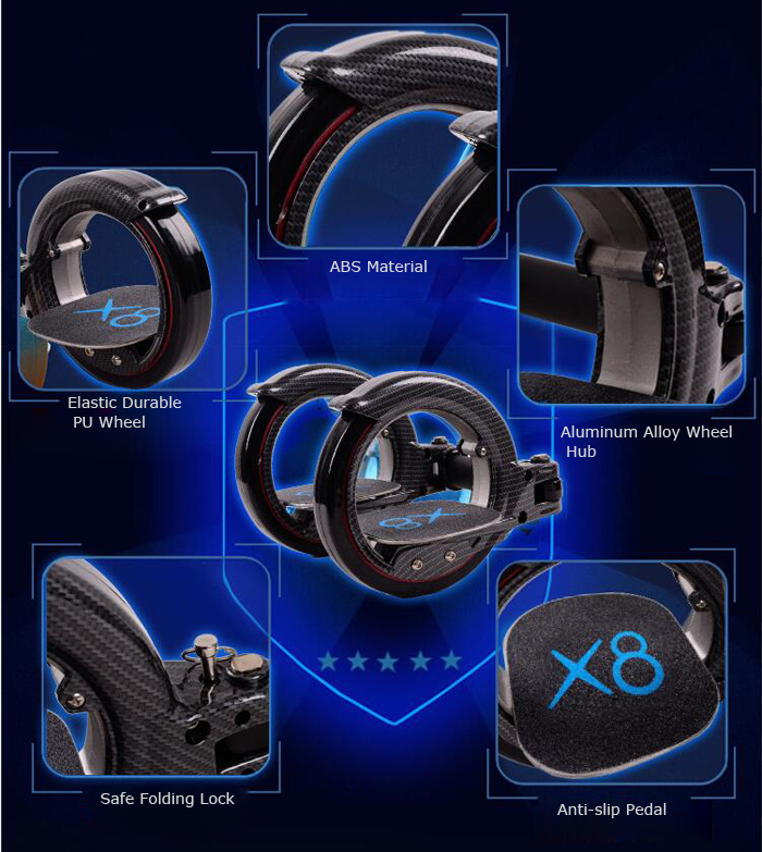 X8 Second Generation Freerider Skatecycle Fashion Safe for X-Games