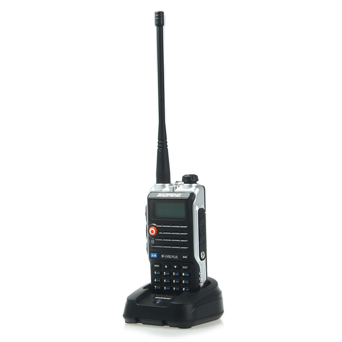 BAOFENG BF-UVB2 PIUS Walkie Talkie with Emergency Alarm Function
