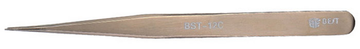 BEST BST-12C Stainless Steel Tweezer Maintenance Tools for Aviation / Microelectronic