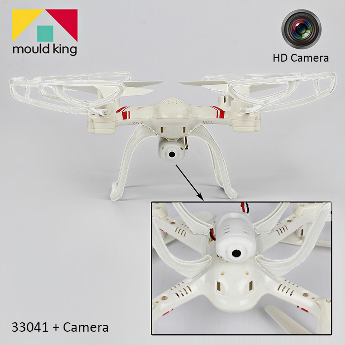 Mould King Super-S 33041 2.4GHz 4CH 6-axis RC Quadcopter with 2.0MP Camera