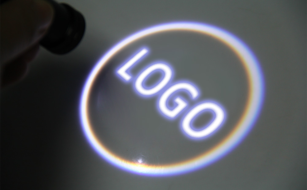 2PCS LED Punching Ghost Shadow Light Logo Projector Car Door Courtesy Laser Universal for Toyota Motor