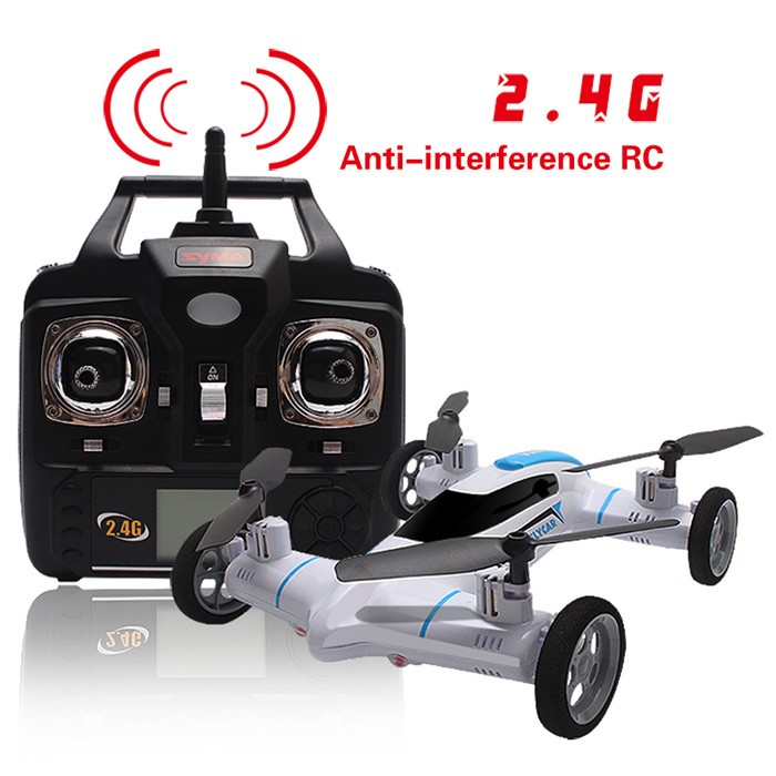 Syma X9 2.4G RC Quadcopter Land / Sky 2 in 1 UFO with Speed Switch