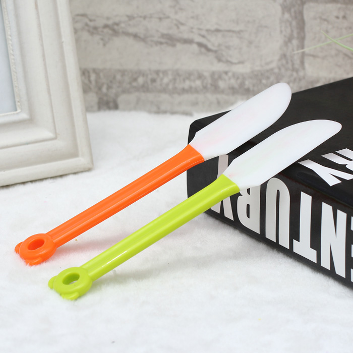 2 in 1 Simple Silicone Cake Shovel Scraping Knife for Daily Use