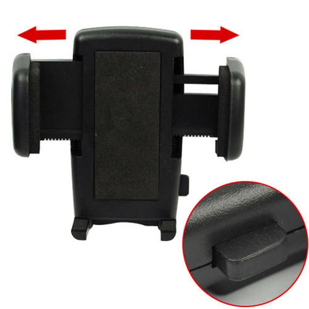 360 Rotatory Car Rearview Mirror Mount Cradle Kit for Cell Phone GPS