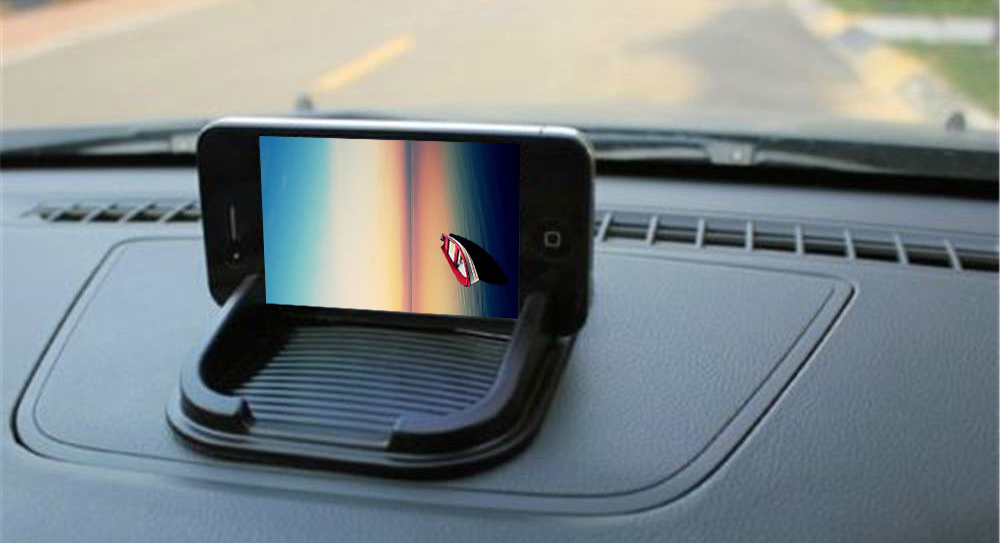 Car Non-slip Mat Skidproof Holder Stand for Cell Phone