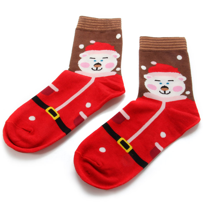 Lovely Snowman Style Christmas Socks for Cosplay Festival Party Ball Decors