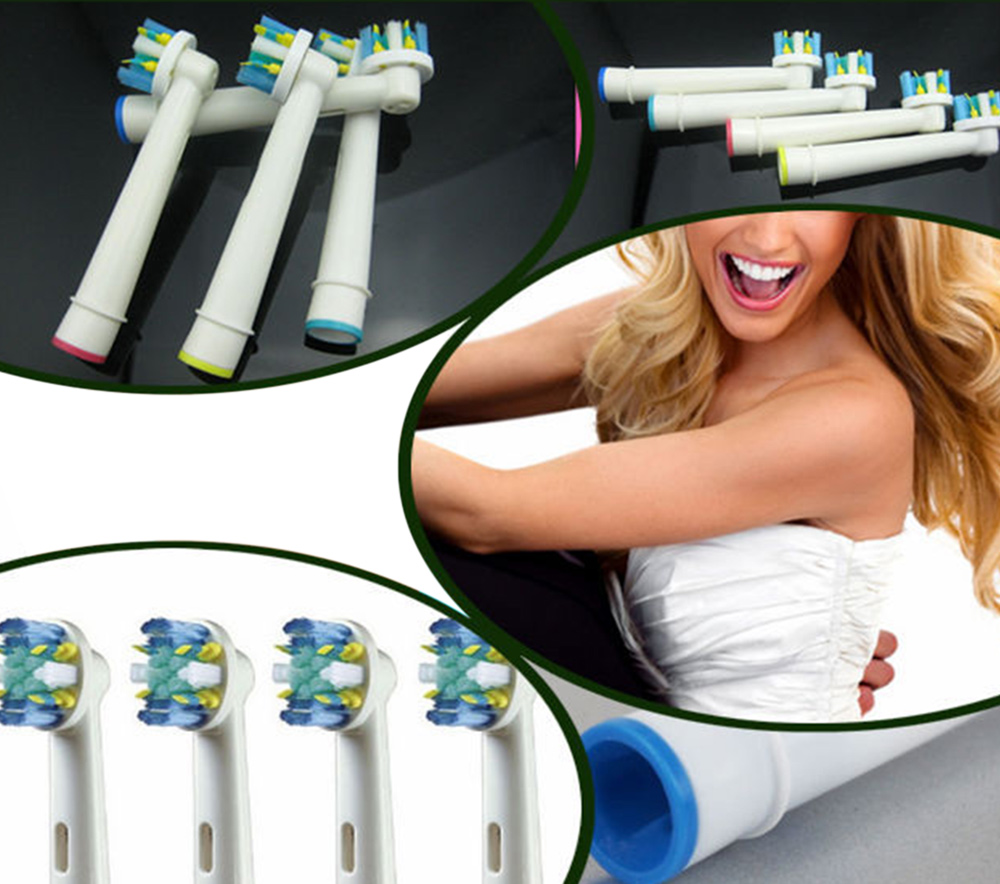 EB - 25A 20pcs Electric Replacement Toothbrush Heads with US Dupont Tynex Bristle
