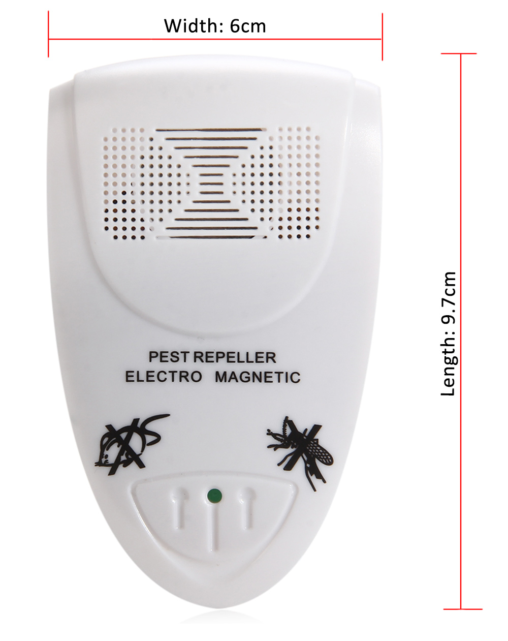 Ll - 3110 Ultrasonic Home Pest Control Repellent Electronic Plug-in Repeller for Insects