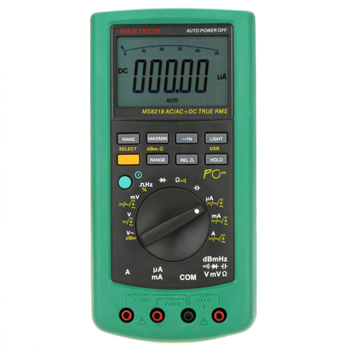 MASTECH MS8218 50000 Counts Digital Multimeter Handheld Type High Accuracy with Data Hold Function