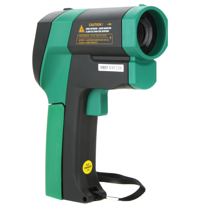 MASTECH MS6550B Non-contact Infrared Thermometer with Backlight Display for Hot Water Pipe / Engine Part