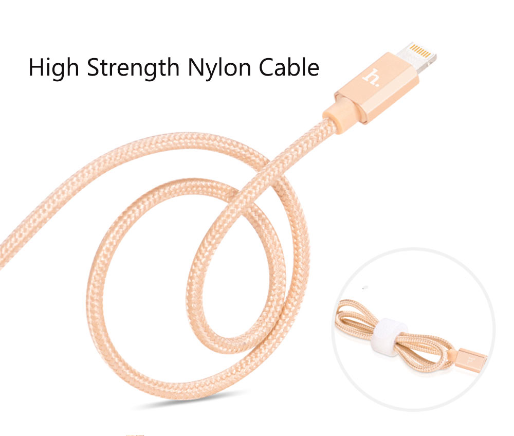 HOCO UPF01 MFI Certified 8 Pin Charging Data Sync Cable 1.2 M