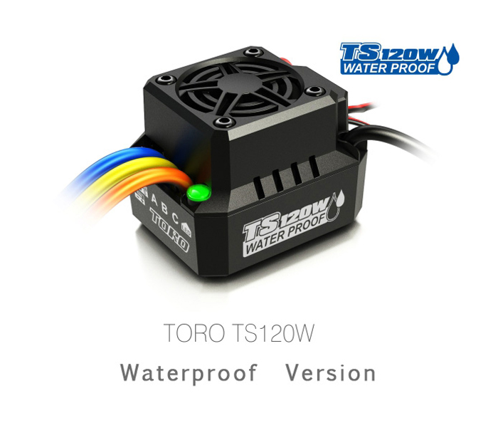 Spare Part SKYRC TS120W IP67 Waterproof Brushless ESC for RC Car