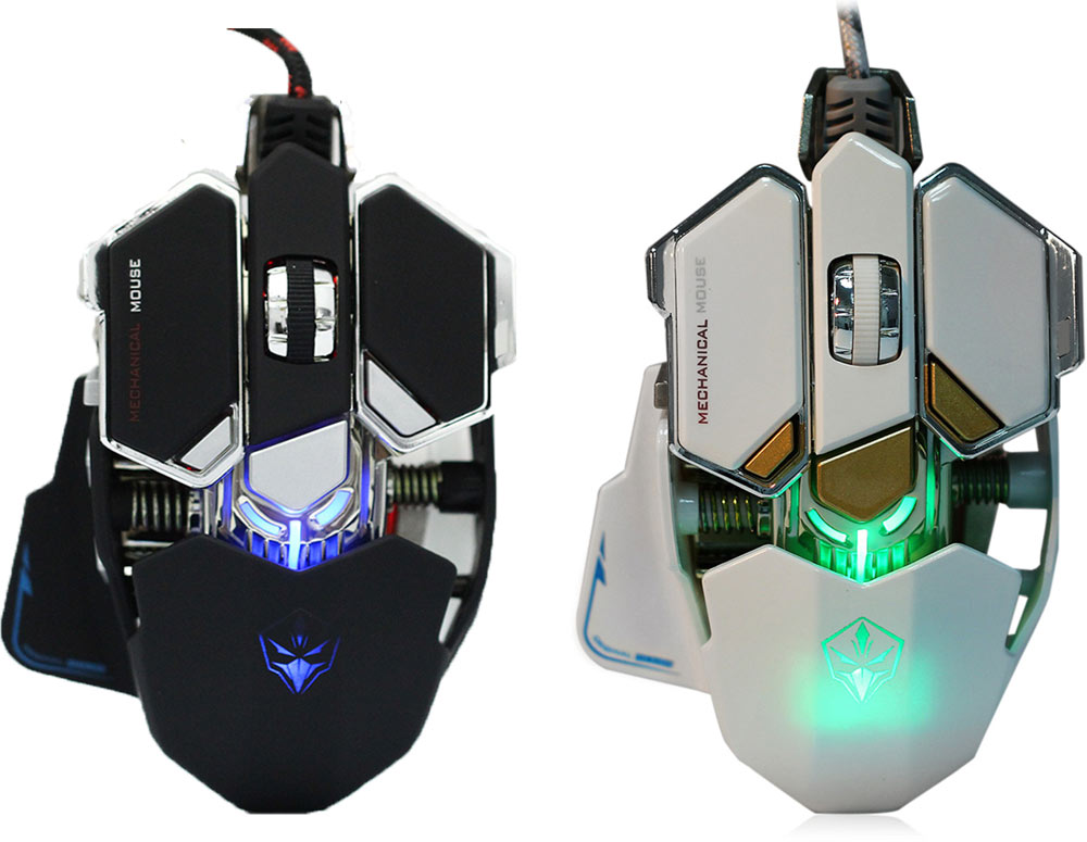 G10 4000 DPI Optical 10 Buttons Mechanical Macro Programming Gaming Mouse